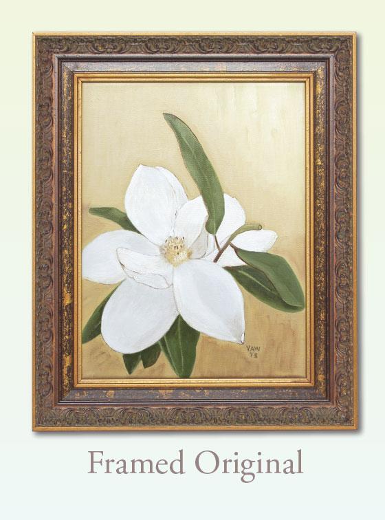 Butterscotch Maggie Framed Original - Val Walton Art