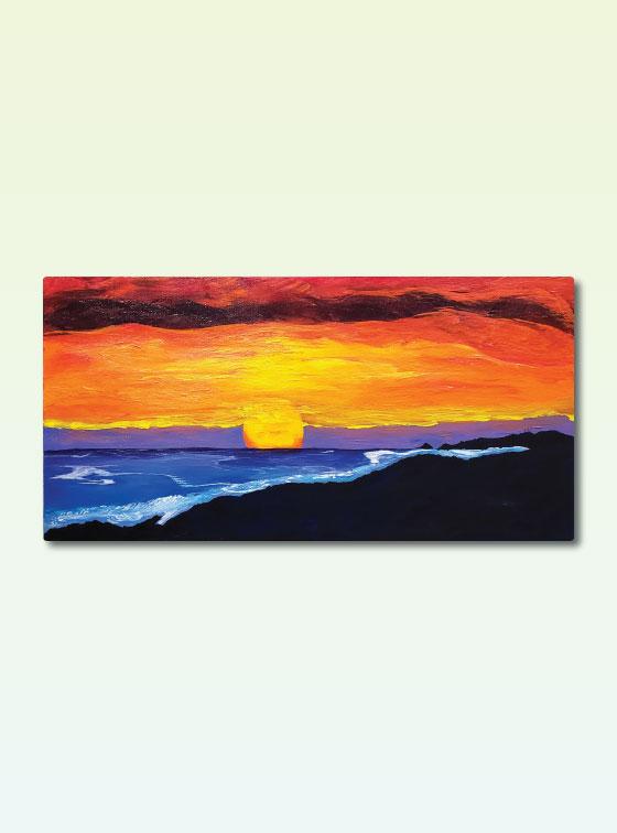 Hawaiian Series 202 - Val Walton Art - Delaware Artist