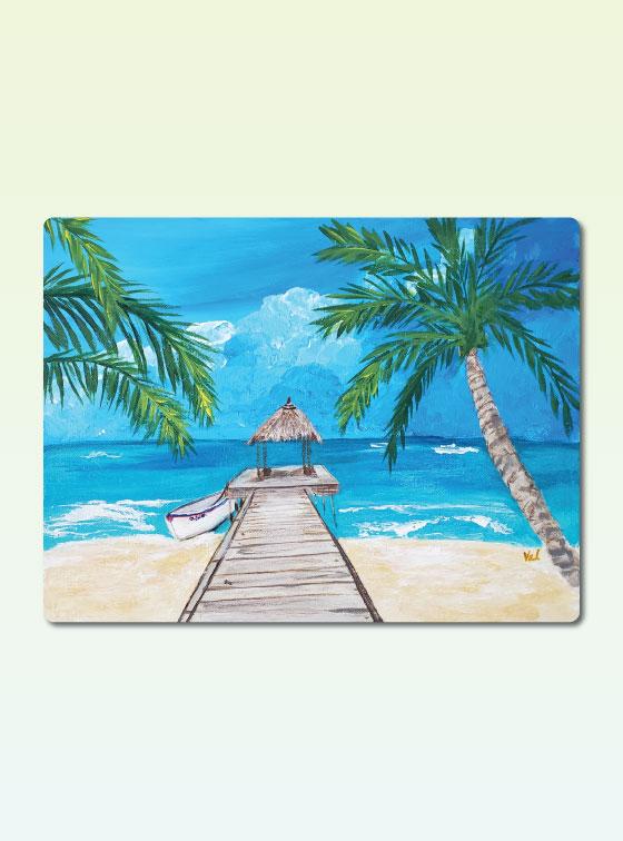Hawaiian Series 204 - Val Walton Art - Delaware Artist