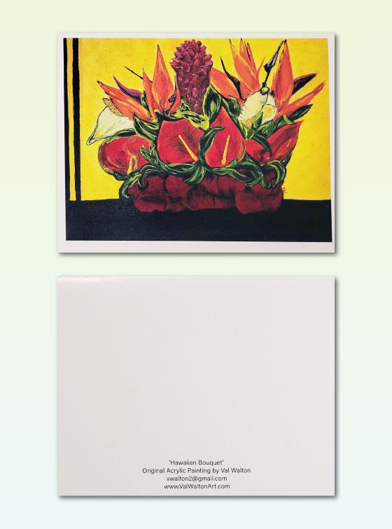 Hawaiian Bouquet - Val Walton Art