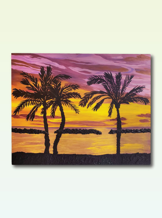 Hawaiian Series Painting 109 - Online Art Shop - Val Walton Art