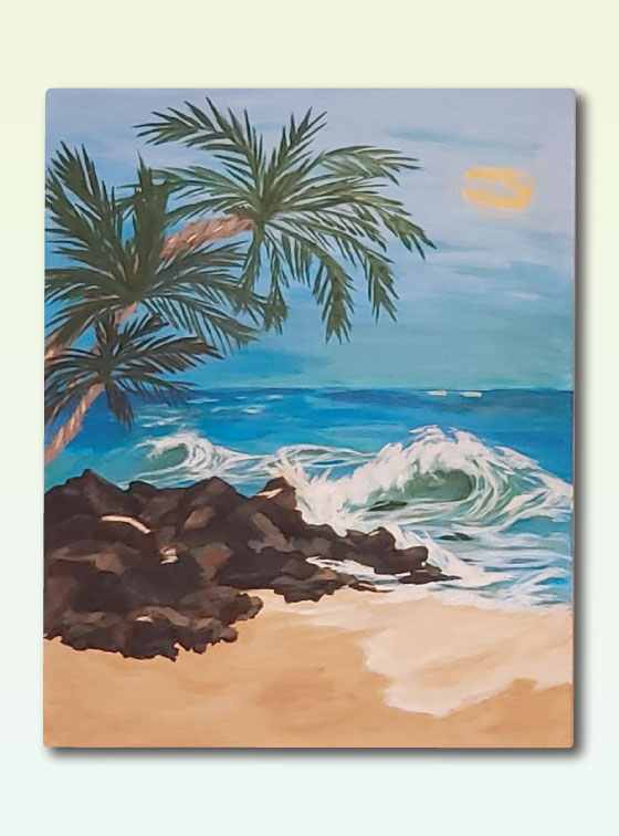 Hawaiian Series Painting 110 - Online Art Shop - Val Walton Art