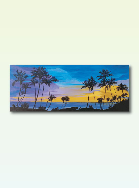 Hawaiian Series Painting 112 - Online Art Shop - Val Walton Art