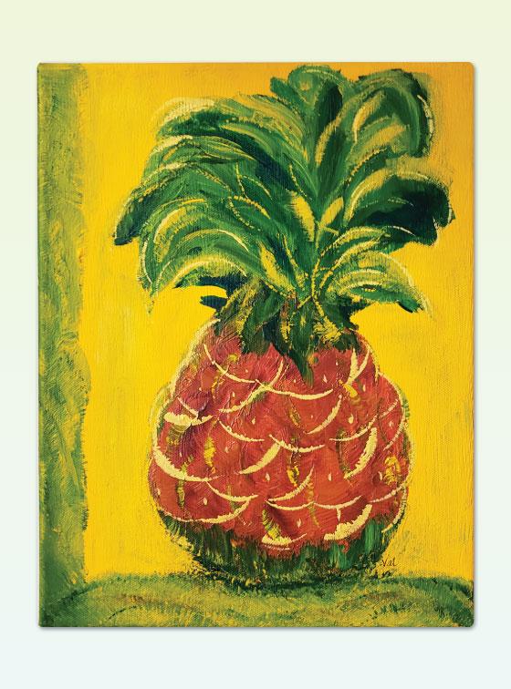 Hawaiian Series 206 - Val Walton Art - Delaware Artist