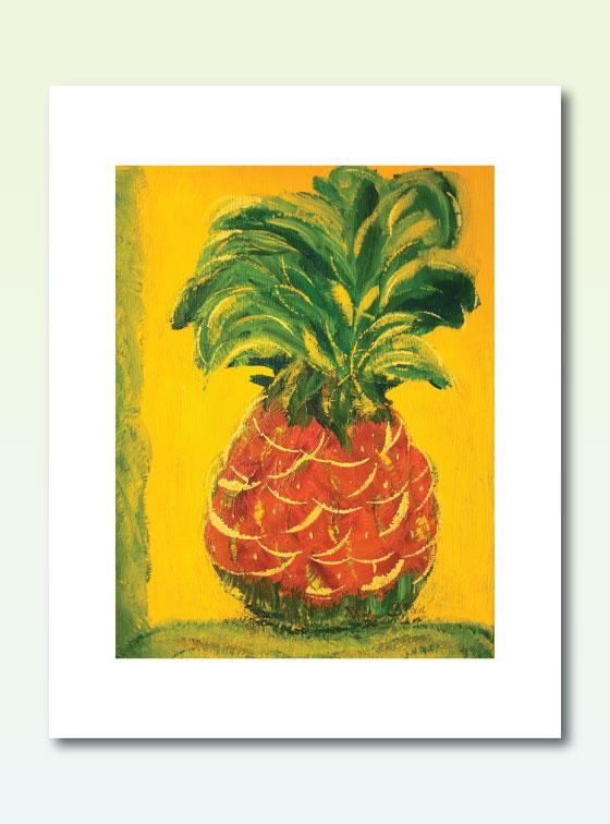 Pineapple 206 - Val Walton Art - Delaware Artist